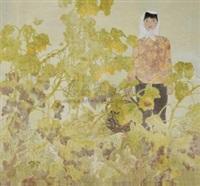 骄阳 (sun) by liang wenbo