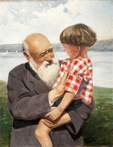 bestefars gutt by christian krohg