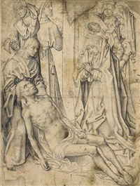 the lamentation of christ by hugo van der goes