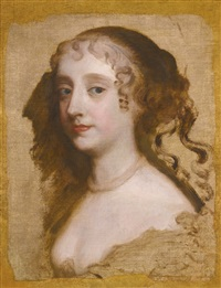 portrait of a lady, probably anne hyde, duchess of york by sir peter lely