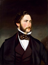 porträt des dichters nikolaus lenau by joseph mathäus aigner