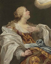 the cimmerian sibyl by jan van den hoecke