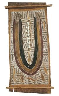 djaiku-sacred python by mithinari gurruwiwi