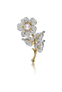 flower brooch by tiffany & company