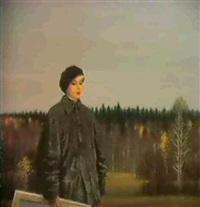 l'artiste siberienne by alexandr vaslovsky