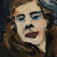 self portrait in fur by grace hartigan