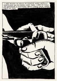 i had never so much as hinted... by raymond pettibon