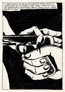 artwork by raymond pettibon