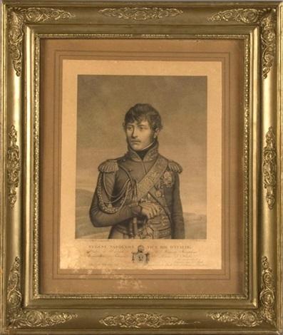 prince eugène napoléon vice roi ditalie by louis charles ruotte