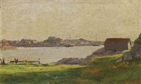 a view of a landscape by frederik kolstö
