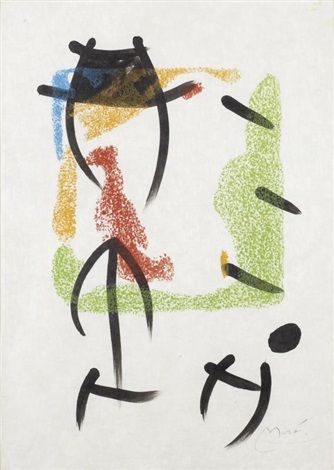 sans titre by joan miró
