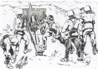 battle scene by alexandros alexandrakis
