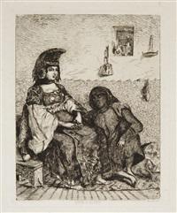 juive d'alger by eugène delacroix