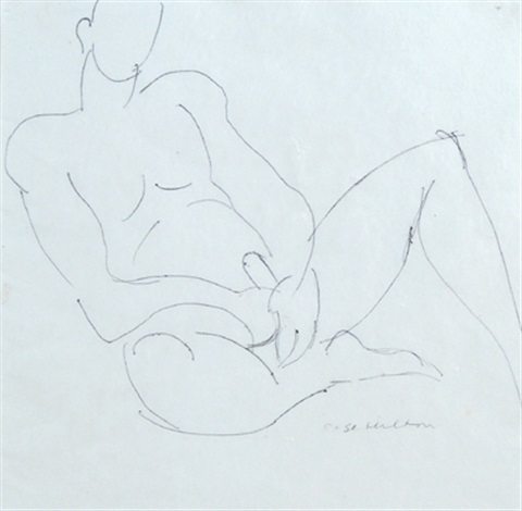 pair of erotic studies by rose hilton
