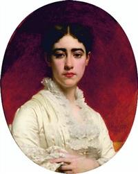 portrait de madame mas by pierre auguste cot