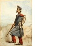 portrait of an infantryman by carl haag