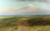mount ararat by georgiy zakharovich bashinzhagyan
