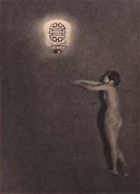 nus féminins (suite of 5) by heinz von perckhammer