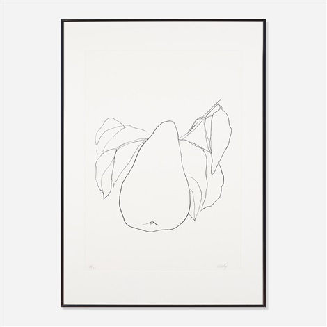 pear iii by ellsworth kelly