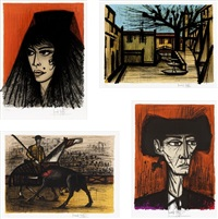 carmen decors and costumes by bernard buffet