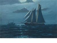 off the grand banks by hjalmar amundsen