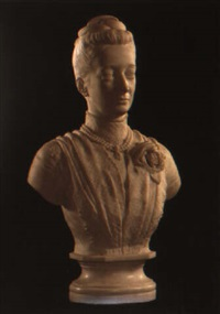 a bust of a lady by john adams-acton