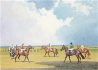 at the start, newmarket by neil cawthorne
