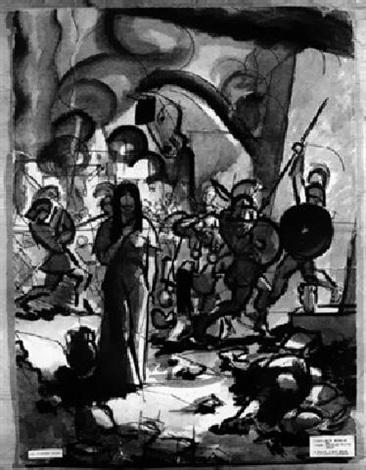 der untergang trojas by karl david