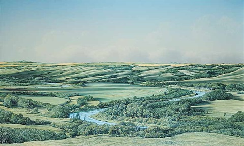 river valley from above the koroluk slide by william bill h webb