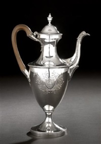 coffeepot by hester bateman