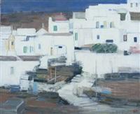 petit hameau, île de tinos, grèce by ginette rapp