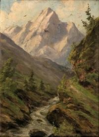 gebirgsbach by gabriele arnhardt-deninger