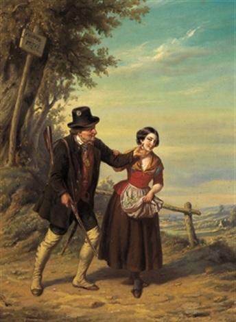 begegnung by hendrick joseph dillens