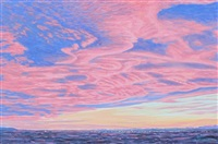 alberta dusty rose sunset by herbert otto sellin