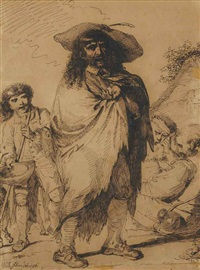 mendiants by pierre alexandre wille