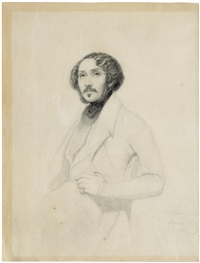 Portrait of a man, traditionally identified..., 1839