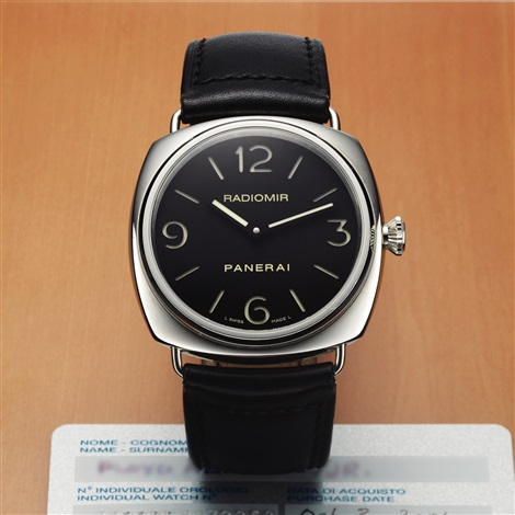Panerai Pam 210 Ref 6623 Historic Collection Steel Radiomir