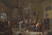 wirtshausinterieur by egbert van heemskerck the younger