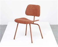 felted eames dcm chair by tanya aguiniga