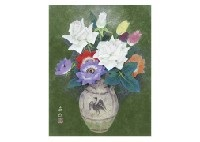 flowers by sokyu yamamoto