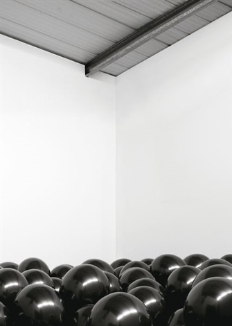work no 202 half the air in a given space by martin creed