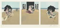 metropolitan triptych (3 works) by francis bacon