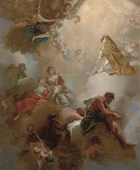 the ascension of a male saint by daniel gran