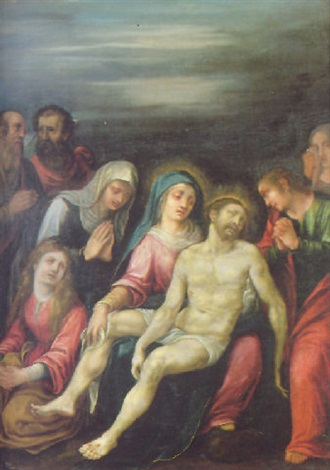 the pieta by astolfo petrazzi