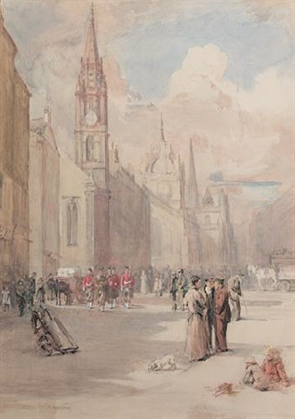 the royal mile edinburgh by robert c abercromby