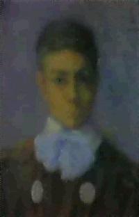retrato de jose m. aragon que fue un valiente aviador by fernando de amarica