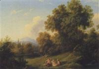 landschaft mit amor und gespielinnen by joseph altenkopf