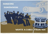 someone, somewhere wants a cable from you by ian hamilton finlay
