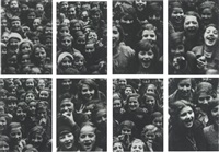 the school of grosse hamburgerstrasse, berlin, 1998 (9 works) by christian boltanski
