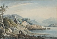 early morning, upper lake killarney by john henry campbell